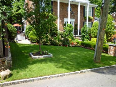 Artificial Grass Photos: Artificial Grass Carpet Ooltewah, Tennessee Lawn And Landscape, Front Yard Landscaping