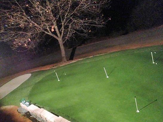 Artificial Grass Photos: Artificial Turf Cost Summertown, Tennessee Home Putting Green, Backyard