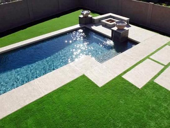 Artificial Grass Photos: Grass Installation Coopertown, Tennessee Design Ideas, Pool Designs
