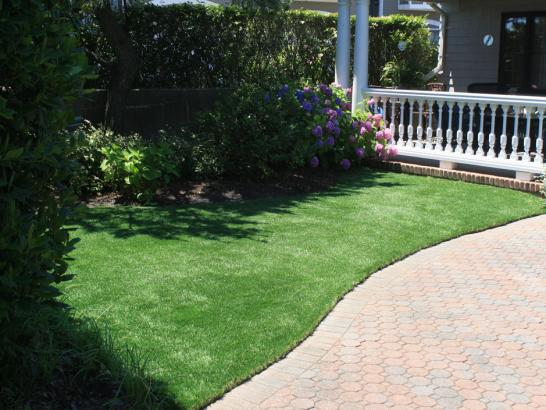 Artificial Grass Photos: Installing Artificial Grass Castalian Springs, Tennessee Landscape Photos, Front Yard Landscape Ideas