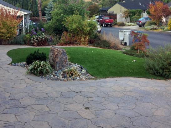 Artificial Grass Photos: Installing Artificial Grass Lobelville, Tennessee Paver Patio, Front Yard Landscaping Ideas