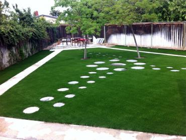 Synthetic Lawn Cookeville, Tennessee Landscape Rock, Backyard Design artificial grass